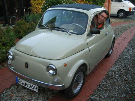 "Matzes ""Pinocchio"", Fiat 500 F, Baujahr 1966 Details unter www.pinocchio.jimdo.com"