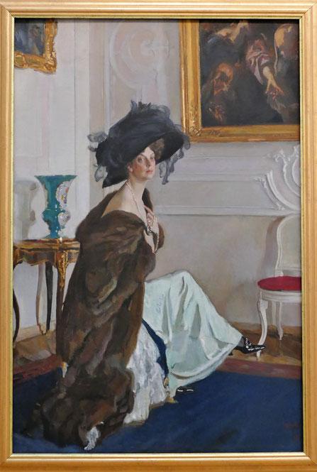 Valentin Serov (1865-1911) : portrait de la Princesse Olga Orlova