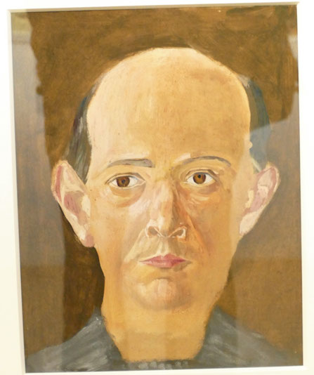 Arnold Schönberg, auto-portrait