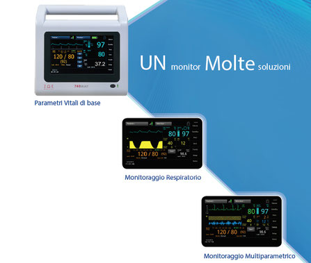 Monitor Paziente Multiparametrico 740SELECT