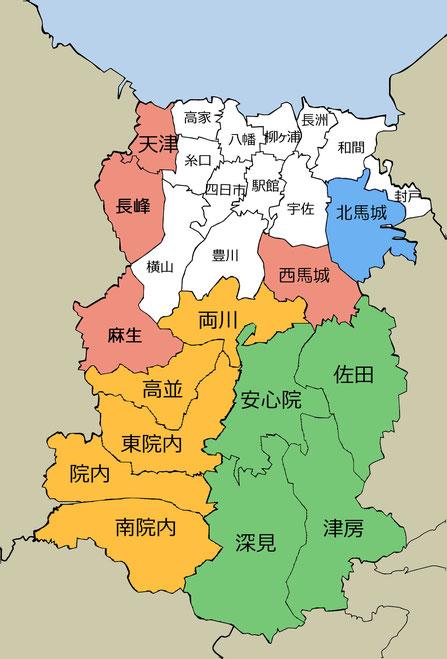 宇佐市内の14の地域コミュニティ組織