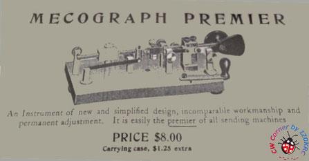 Mecograph Premier advertisement