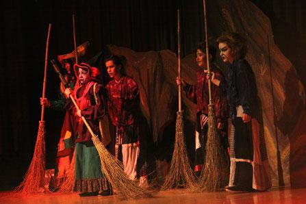 Die kleine Hexe, theaterworks