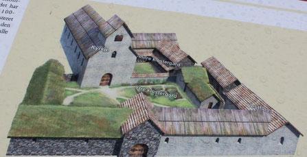 Rekonstruktion des Kloster Halsnøy