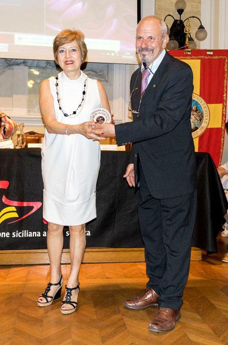 PREMIO alla MIGLIORE RECITAZIONE assegnato a Graziella Lo Vano