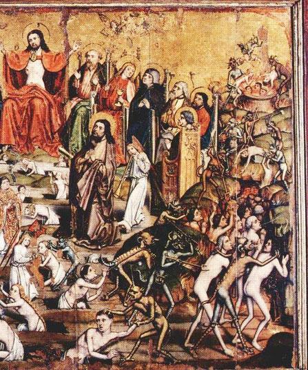 Jesus kocht sich zum Entsetzen unserer Kinder Menschen in Paderborn. Das Bild brachte Erzbischof Becker eine Strafanzeige ein. Der Vorwurf: Kindesmisshandlung