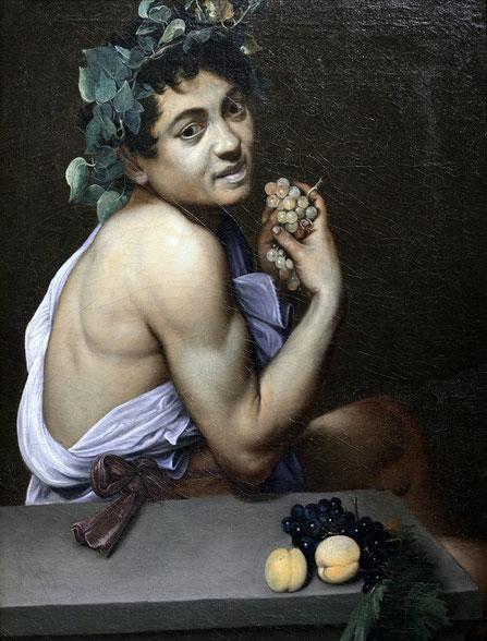 Больной Вакх - самые известные картины Караваджо