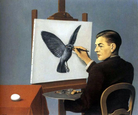 Ясновидение (Проницательность) - самые известные картины Рене Магритта