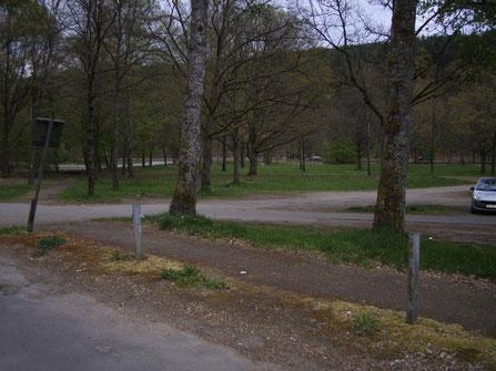 Parkplatz am Gelterswoog