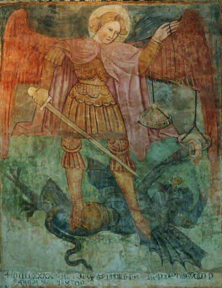 AREGNO (Trinité - fresque du 15è)
