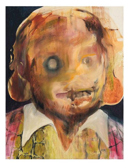 Nach dem Streit-           -Oil on canvas-     -2012-     -90x70cm