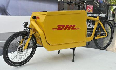 Cedere gebruikt Fietskoerier en DHL