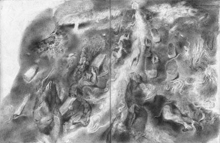 Matthias-Wyss-TAGESLICHT-DAYLIGHT-2011–2014-Pencil-On-Paper-22-x-44-Cm-9