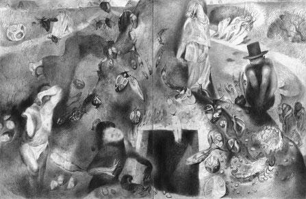 Matthias-Wyss-TAGESLICHT-DAYLIGHT-2011–2014-Pencil-On-Paper-22x44-Cm-8