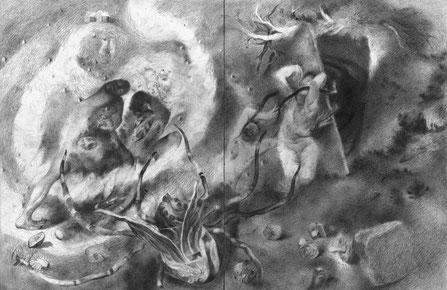 Matthias-Wyss-TAGESLICHT-DAYLIGHT-2011–2014-Pencil-On-Paper-22-x-44-Cm-5