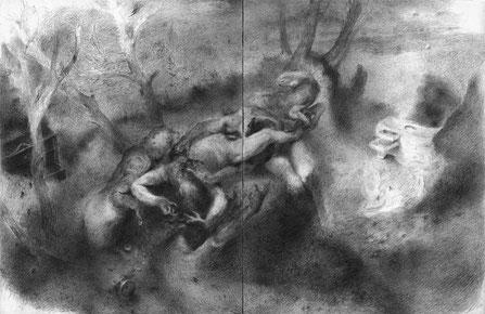 Matthias-Wyss-TAGESLICHT-DAYLIGHT-2011–2014-Pencil-On-Paper-22-x44-Cm-11