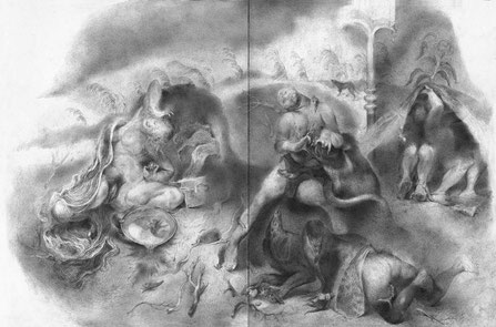 Matthias-Wyss-TAGESLICHT-DAYLIGHT-2011–2014-Pencil-On-Paper-22-x-44-Cm-14