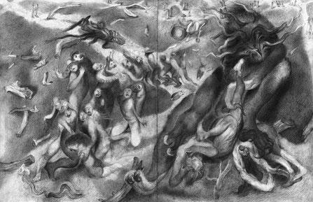Matthias-Wyss-TAGESLICHT-DAYLIGHT-2011–2014-Pencil-On-Paper-22-x-44-Cm-3