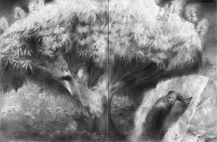 Matthias-Wyss-TAGESLICHT-DAYLIGHT-2011–2014-Pencil-On-Paper-22-x-44-Cm-10