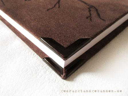 Buchblock beschnitten, 3-Seiten-Beschnitt