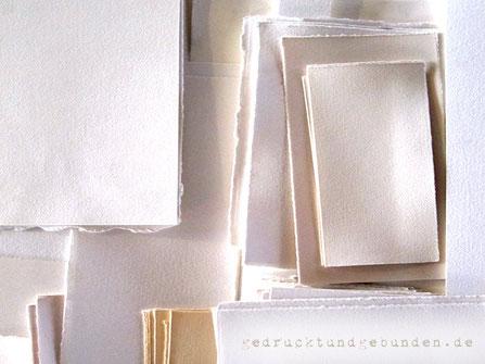 Gästebuch Hochzeit mit Innenseiten aus Büttenpapier, Individuell bedrucktes Büttenpapier, Hochzeitspapeterie