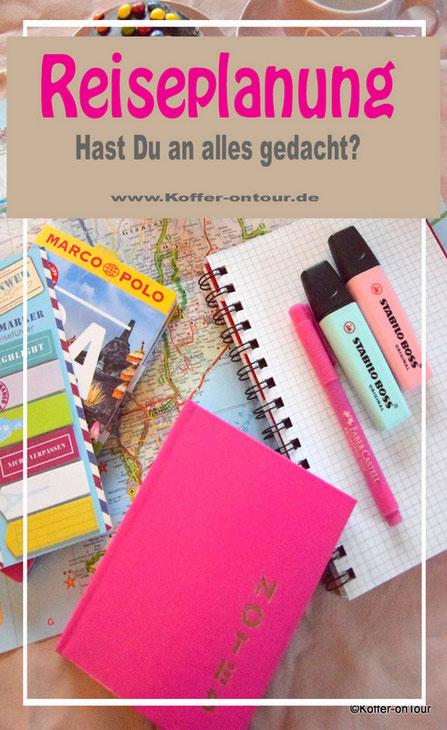 Reiseplanung, Tipps