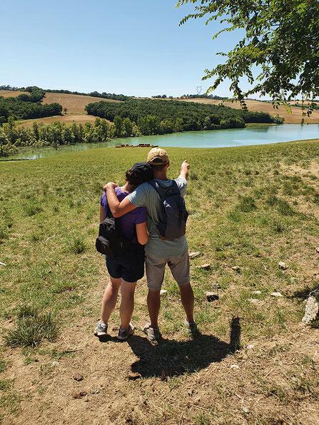De 10,2 km de long; le Dagour prend sa source sur la commune de Caraman et se jette dans le Girou en rive gauche sur la commune de Verfeil. Crédit photo : JR©
