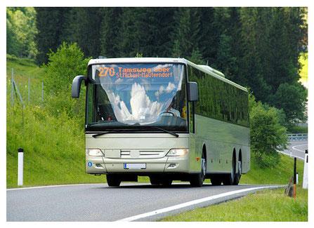 Bus Ortung mit GPS und Telematik im Reisebus und Linienbus