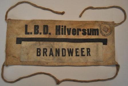 L.B.D. Armband van de Dienst Brandweer