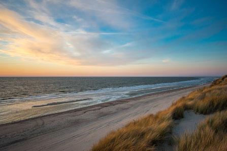 Am Meer, durch die Düne, schön mit einem Segway Tour