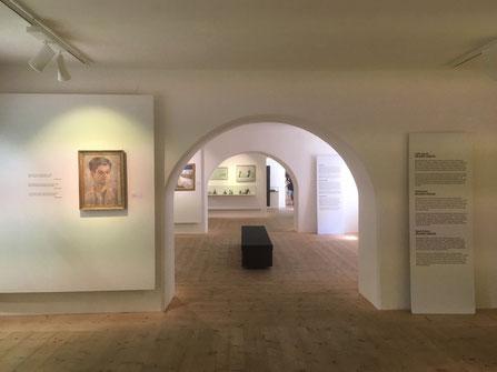 Werkschau Wilfried Kirschl, Museum Schloss Bruck, Lienz/Osttirol (Foto Carl Kraus)