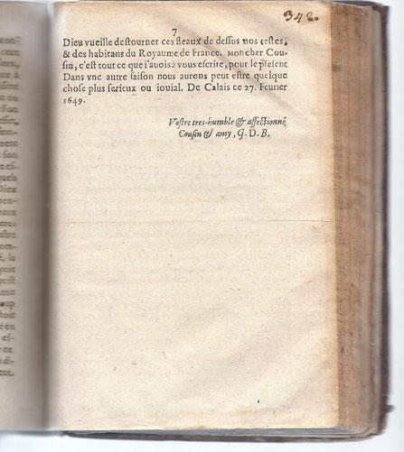 La signature G.D.B., un mystère