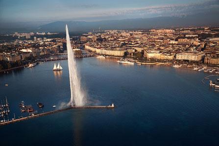Geneva top things to do Foutain - Copyright John6536
