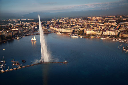 Geneva top things to do Foutain - Copyright GenevaTourism