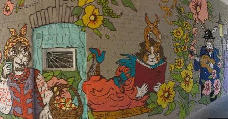 Mural in Kiev