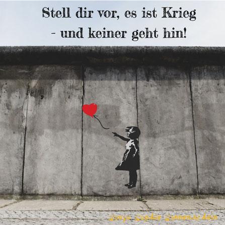 Bild von Eric Ward, Mädchen mit Ballon von Banksy
