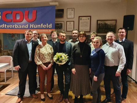 Der Vorstand der CDU Hünfeld