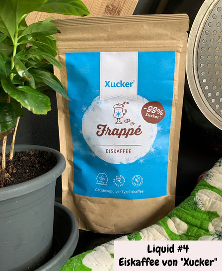 Xucker Eiskaffee Frappe travel keto zuckerfrei sommer
