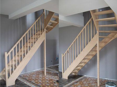 menuiserie challans escalier