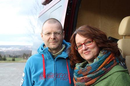 Dirk Reuße und Margitta Gärtner