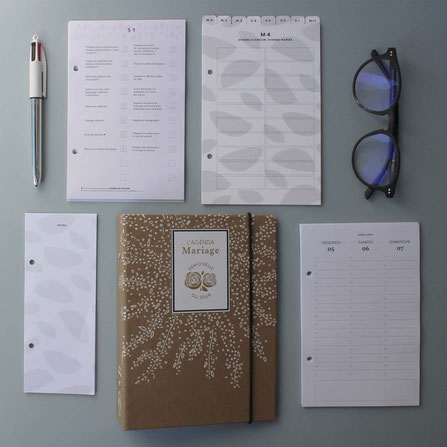 agenda mariage organiser son mariage preparer son mariage retroplanning aide conseils astuces souvenir idee cadeau