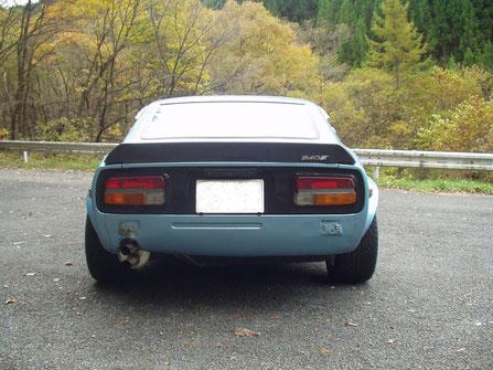 240Z  ナラシ完了!!