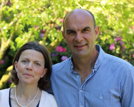 Emmanuelle et François Goisque - Propriétaires du Parc floral de Digeon - Parcs et Jardins de Picardie