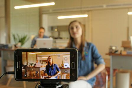 Mit dem Smartphone gute Videos mit gutem Klang aufnehmen für Youtube, Facebook Live  oder Instagram Stories