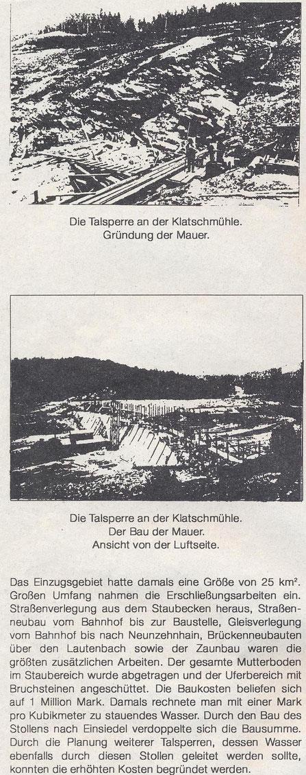 Bild: Teichler Wünschendorf Erzgebirge Wasser Enger