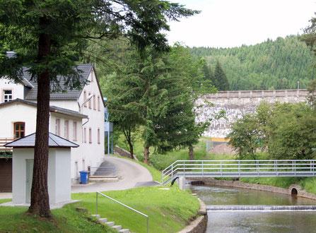 Bild: Teichler Wünschendorf Erzgebirge Klatzschmühle heute 2012