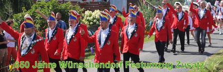 Bild: Wünschendorf Festumzug 650 Jahre