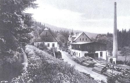 Bild: Teichler Wünschendorf Erzgebirge Hammermühle Neunzehnhain