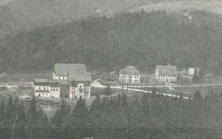 Bild: Teichler Wünschendorf Erzgebirge Hammermühle Neunzehnhain 1900