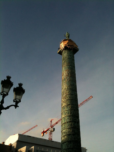 cabane au sommet de la colonne